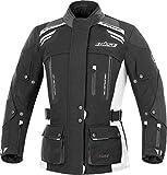 Büse Highland Damen Motorrad Textiljacke 42 Schwarz/Hellgrau