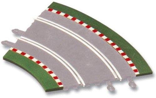Scalextric Original - Bordes para Curva Interior (4+4  Unidades) para Cualquier Sistema Scalextric (87940)