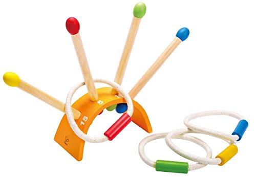 Hape E4301 – Anneaux lancer, jouet en bois