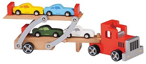 Camion Transporteur de voiture en bois