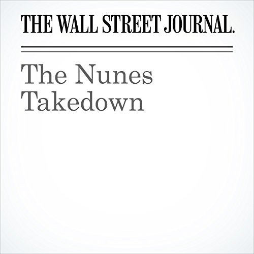 The Nunes Takedown copertina