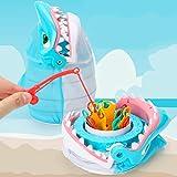 Deeabo Juego de Dedos Creativo para Morder Dientes de Tiburones Juego de Mesa para Juegos de Mesa Familiar para Fiestas Juguetes Interactivos para Padres E Hijos Juguete de Capacidad de Reacción