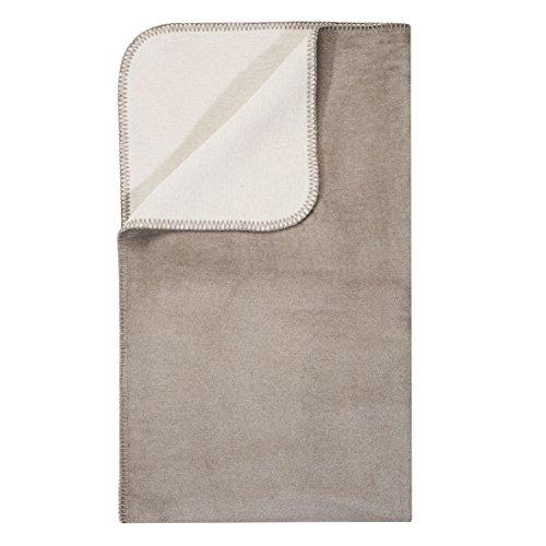 Unbekannt Pad Hobart Couverture pour Enfant, 65% coton/35% polyacrylique, Taupe, 100x150