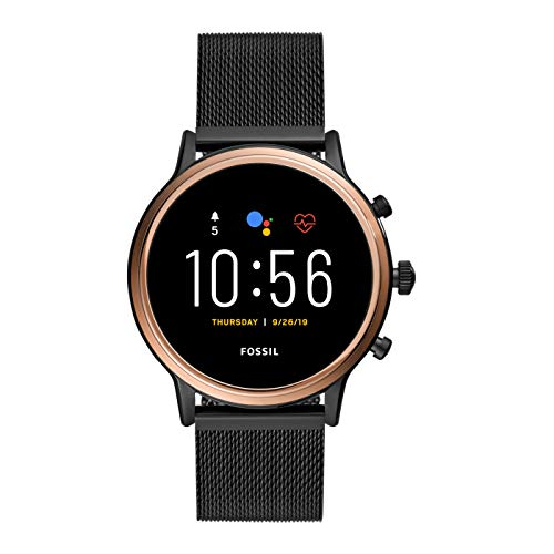 Fossil Women's Gen 5 Smartwatch Julianna HR with Wear OS by Google, GPS,...