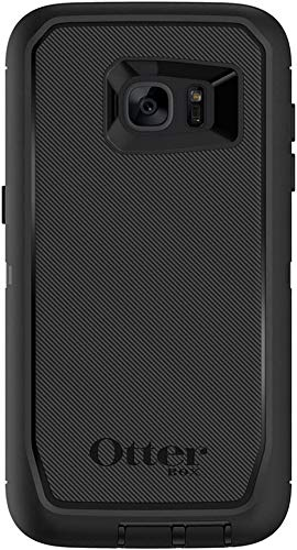 OtterBox Rugged Protection Defender Series Case for Samsung Galaxy S7 Edge (ONLY) NOT for S7 Regular - Non Retail Packaging - Black