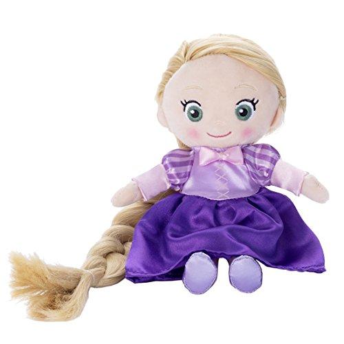 ディズニーキャラクター マイフレンドプリンセス ヘアメイク プラッシュドール 塔の上のラプンツェル ラプンツェル