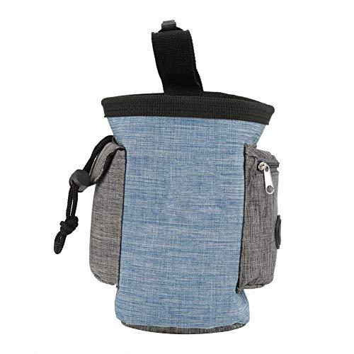Hundeleckerli-Tasche, mehrere Taschen, Haustierfutter, Snack-Aufbewahrung, Hüfttasche, Gehorsamkeitstraining, multifunktional, tragbar