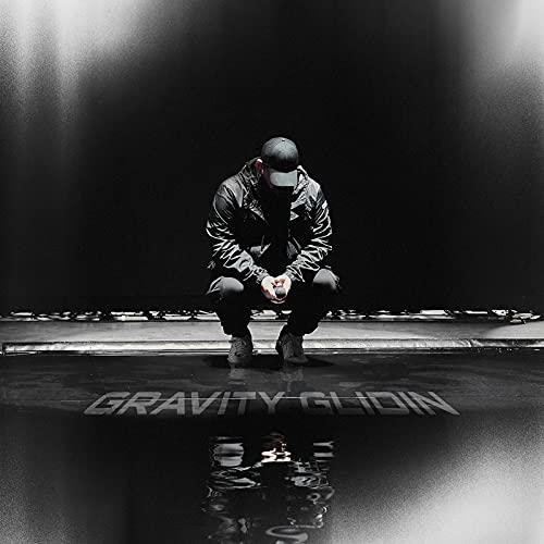 Lobo enmascarado álbum de música Gravity Glidin cartel de la cubierta arte de la pared impresión en lienzo pintura sala de estar decoración del hogar-24x24 pulgadas sin marco (60x60cm)