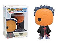 From Naruto: Shippuden, Tobi, as a stylized POP vinyl from Funko! Stylized collectable stands 3 ¾ inches tall, perfect for any Naruto: Shippuden fan! Collect and display all Naruto: Shippuden POP! Vinyl's!
