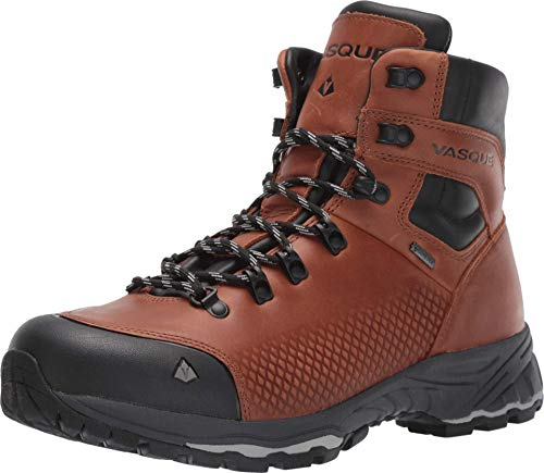Vasque Men's St. Elias FG GTX Hiking Boot, Cognac, 10 Wide