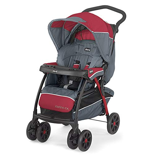 Chicco Cortina CX Stroller Lava for Newborn Babies and Toddlers, 0m+, Pram for Boys and Girls