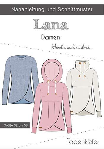 Schnittmuster und Nähanleitung - Damen Hoodie Lana