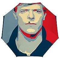 デヴィッド ボウイ 折りたたみ傘 梅雨対策 晴雨兼用 折り畳み傘 超撥水 軽量 強風対応 紫外線カット 日焼け止め メンズ レディース 持ち運びが簡単