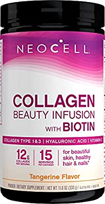 NeoCell Beauty Infusion Collagen Drink Mix (Tangerine Twist Flavour, 330g) by Neocell