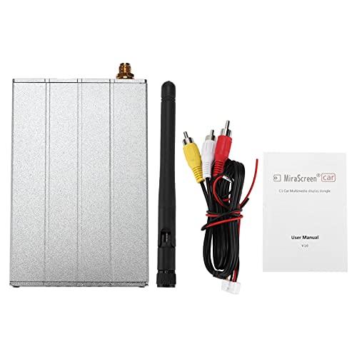 Caja de presentación de WiFi del coche, palillo DLNA de la TV del adaptador del vínculo del espejo compatible potente para Andriod C1