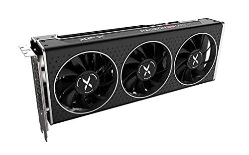 XFX Speedster MERC308 Radeon RX 6600 XT Black Gaming Grafikkarte mit 8GB GDDR6 HDMI 3xDP, AMD RDNA™ 2 (RX-66XT8TBDQ)