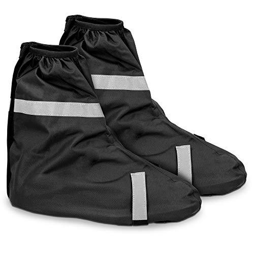 Navaris Schuh-Überzieher Überschuhe Regenschutz Gamaschen - Schutz vor Regen und Schmutz - wasserdicht - für Damen und Herren - versch. Größen