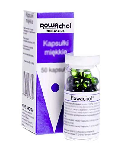 Rowachol 200 Capsules. Made in Austria/Germany. Polish Distribution, Polish Language.