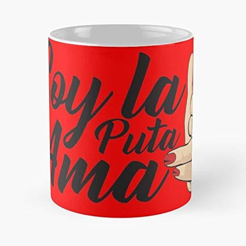 De House La Soy Papel AMA Best Taza de café de cerámica de 325 ml