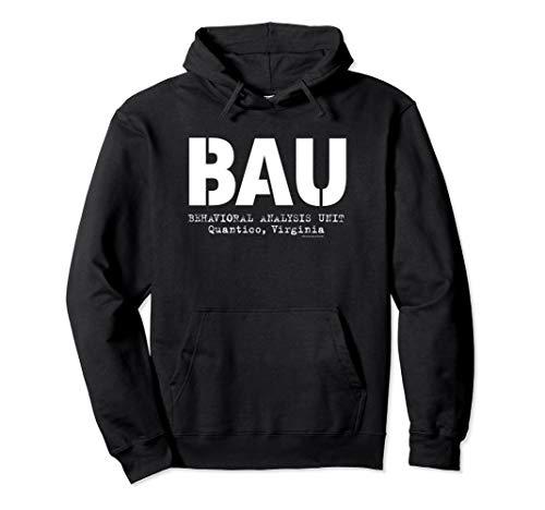 Criminal Minds BAU Quantico Pullover Hoodie
