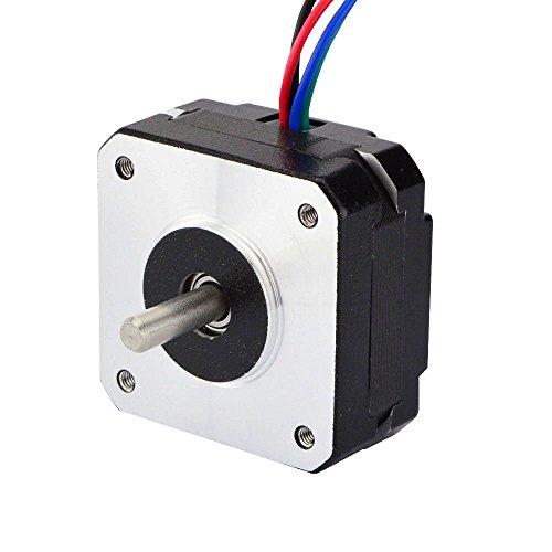 STEPPERONLINE 0.9deg Nema 17 Schrittmotor Bipolar 1.2A 11Ncm 42x20mm 4-Draht für 3D Drucker