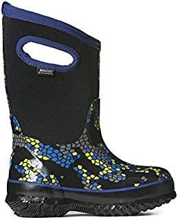 Bogs Kids' Classic Axel Insulated Rain Boots & Drying Towel Bundle