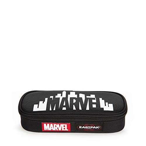 Eastpak x Marvel Oval Single Astucci, 22 cm, Nero (Marvel Skyline)