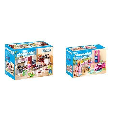 Playmobil 9269 - Große Familienküche &  9270 - Fröhliches Kinderzimmer