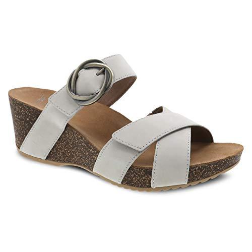 Dansko Women's Susie Ivory Milled Slide Sandal 10.5-11 M US