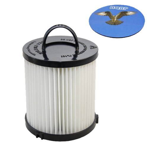 HQRP HEPA Dust Cup Filter Works with Eureka 4230 4240 Series Comfort Clean 4235AZ 4236AZ 4237AZ 4238AZ 4239AZ / Whirlwind Rewind 4242A Upright Vacuum Plus Coaster