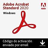 Adobe Acrobat | Standard | 1 Usuario | PC | Código de activación PC enviado por email