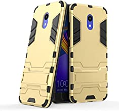 """Half-wrapped Cases - 3D Combo Armor Case for Meizu M6 2GB 16GB 3GB 32GB 5.2"""" for Meizu m6 note meizu note 6 Shockproof Phone Back cover Case Fundas (GTX GD for Meizu M6)"""