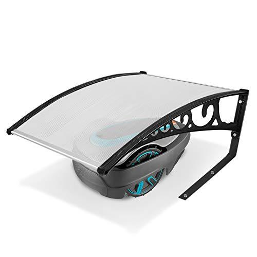 Garage pour tondeuse robot tondeuse garage toit abri voiture pour tondeuse à gazon automobile 103cm x 77cm x 45cm en polycarbonate protection contre la pluie, la grêle et les rayons UV