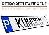 L & P Car Design BF1-PKZ-KD Plaque de stationnement pour Voiture