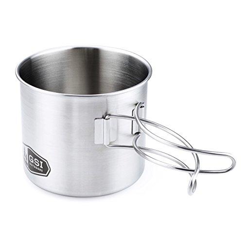 GSI Freien Glacier Edelstahl Flasche Cup/Pot