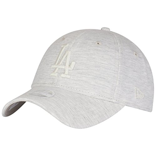 New Era Essntl Jrsy 9Forty Damen Adjustable Cap LA Dodgers Beige, Size:ONE Size