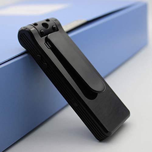RNNTK Verdeckte Mini Spionage Kamera, Familien Business Sitzung Kamera Mit Nachtsicht Loop Aufnahme,Full HD 1080P Bewegungserkennung Tragbar Überwachungskamera