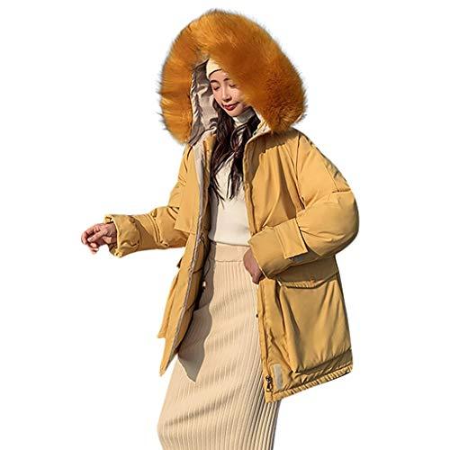 TOPSELD Mode Oberbekleidung Langarm mit Kapuze Jacken Cotton-gepolsterte Taschen Verband Mäntel