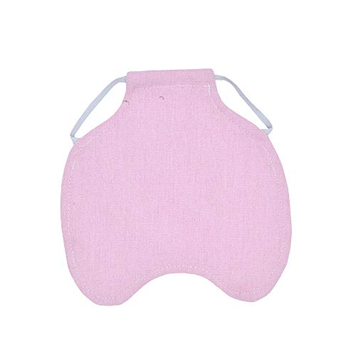 RETYLY Simple Sangle Poulet Tablier/Selle, Protecteur Feather Fix pour Volaille -Standard Taille (Rose)