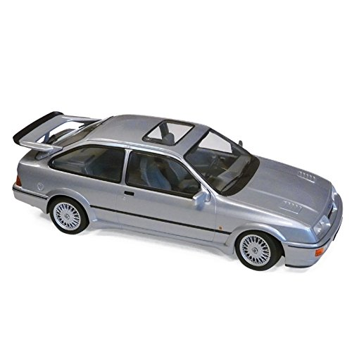 Norev 1:18 1986 Ford Sierra RS Cosworth LHD - Gris metálico - NV182770