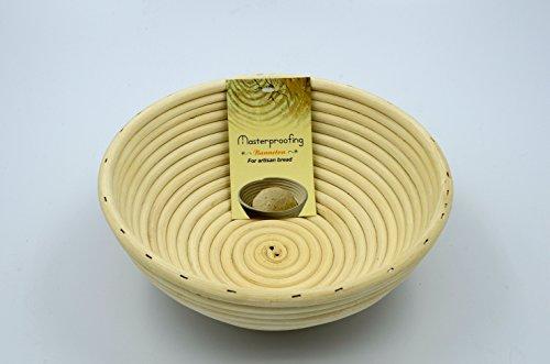 Masterproofing 2 Pcs Round Banneton Basket-8 Inch
