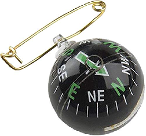 Allen Liquid-Filled Ball Compass with Pin, Multi, One Size (484)
