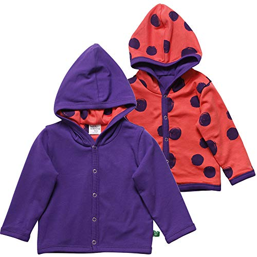 Fred'S World By Green Cotton Circus Jacket Blouson, Violet (Purple 019363803), 68/74 Bébé Fille