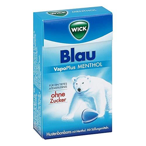 Wick Blau Menthol Bonbons ohne Zucker Clickbox