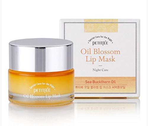 [Petitfee] Oil Blossom Lip Mask Sea Buckthhorn Oil Oil 15 g/K-Beauty