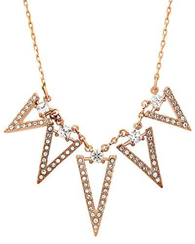 Swarovski 5241273 - Collana da Donna in Acciaio Inox con Cristallo Trasparente