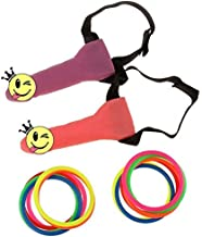 BLUE GARLIC Bachelorette Party Games Girl Night Party Headband Ring toss Set
