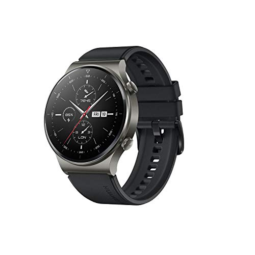 HUAWEI Watch GT2 Pro Night Black/スマートウォッチ/長時間バッテリー/音楽保存・再生【日本正規代理店品】 文字盤サイズ46mm