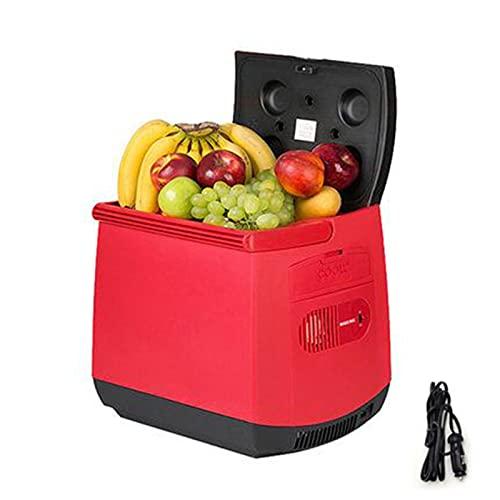 Upupto 25L Mini refrigerador de automóviles - Nevera portátil para Bebidas, bocadillos, Cervezas, Productos para el Cuidado de la Piel, automóviles Calentamiento y función de enfriamiento