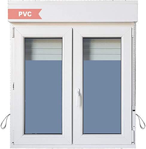 Ventanastock Ventana PVC Practicable Oscilobatiente 2 hojas con Persiana (PVC) 1000 ancho x 1155 alto